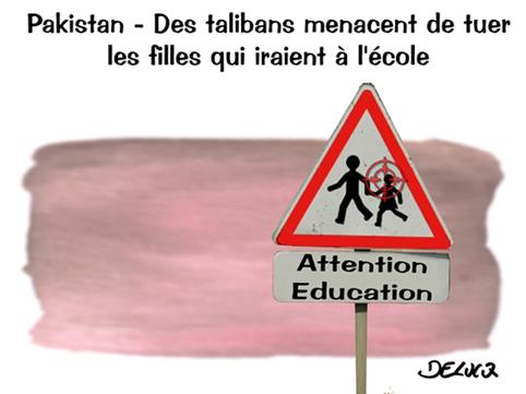 talibans1 Pakistan: des talibans menacent de tuer les filles qui iraient à lécole