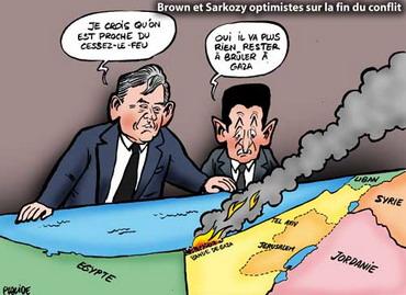brown-sarkozy Gaza : suite et fin (provisoire...)