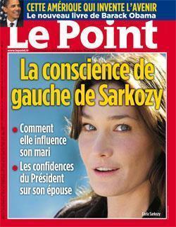 carla Carla Bruni, conscience de gauche de Sarkozy...