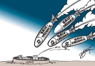 gaza-deven-le-mauricien Massacre...